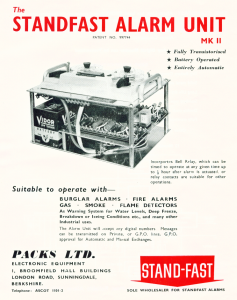 Advertising Lituature from 1963 on the Mk2 Autodialler