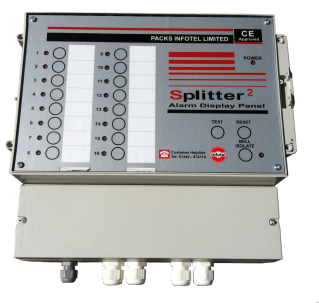 The M30 Alarm Dialer Slitter 2 Panel