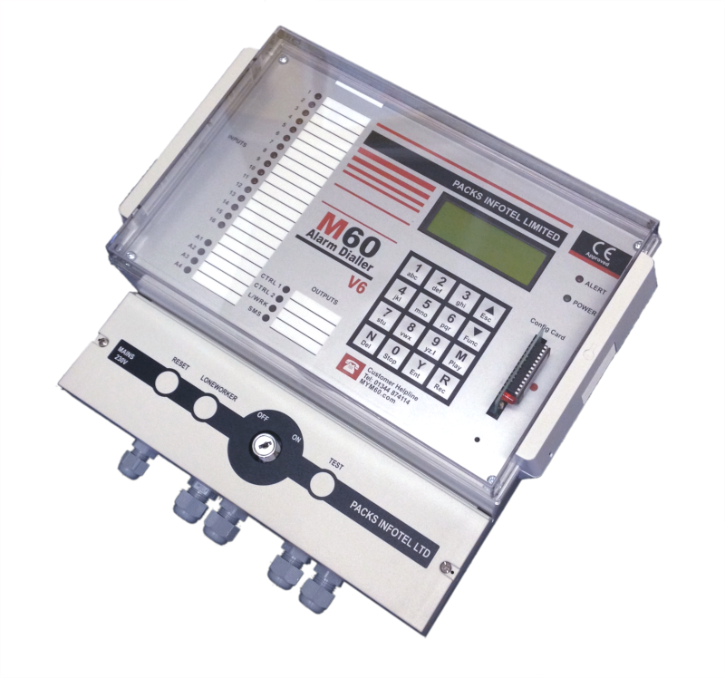 GSM Auto Dialer For Existing Alarm Systems